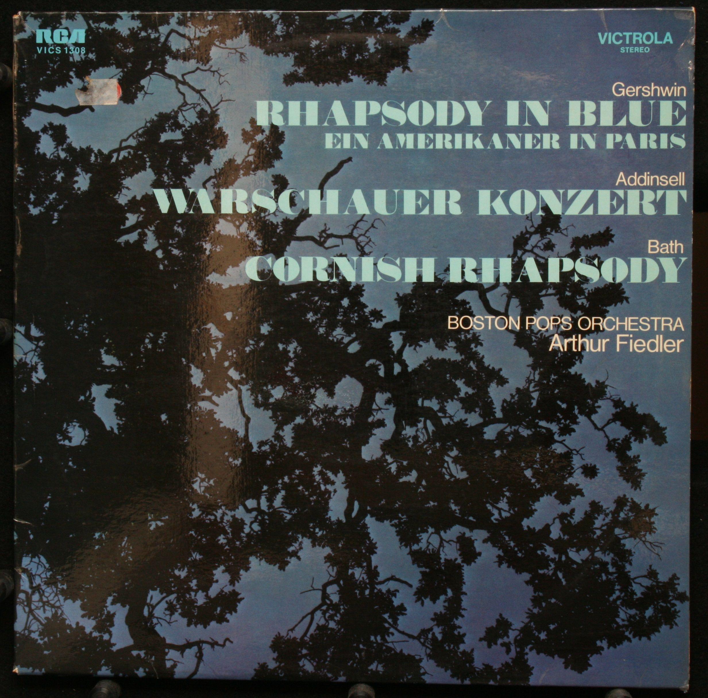 Boston Pops Orchestra | Fiedler, Arthur | Gershwin Rhapsody in blue- Ein Amerikaner in Paris