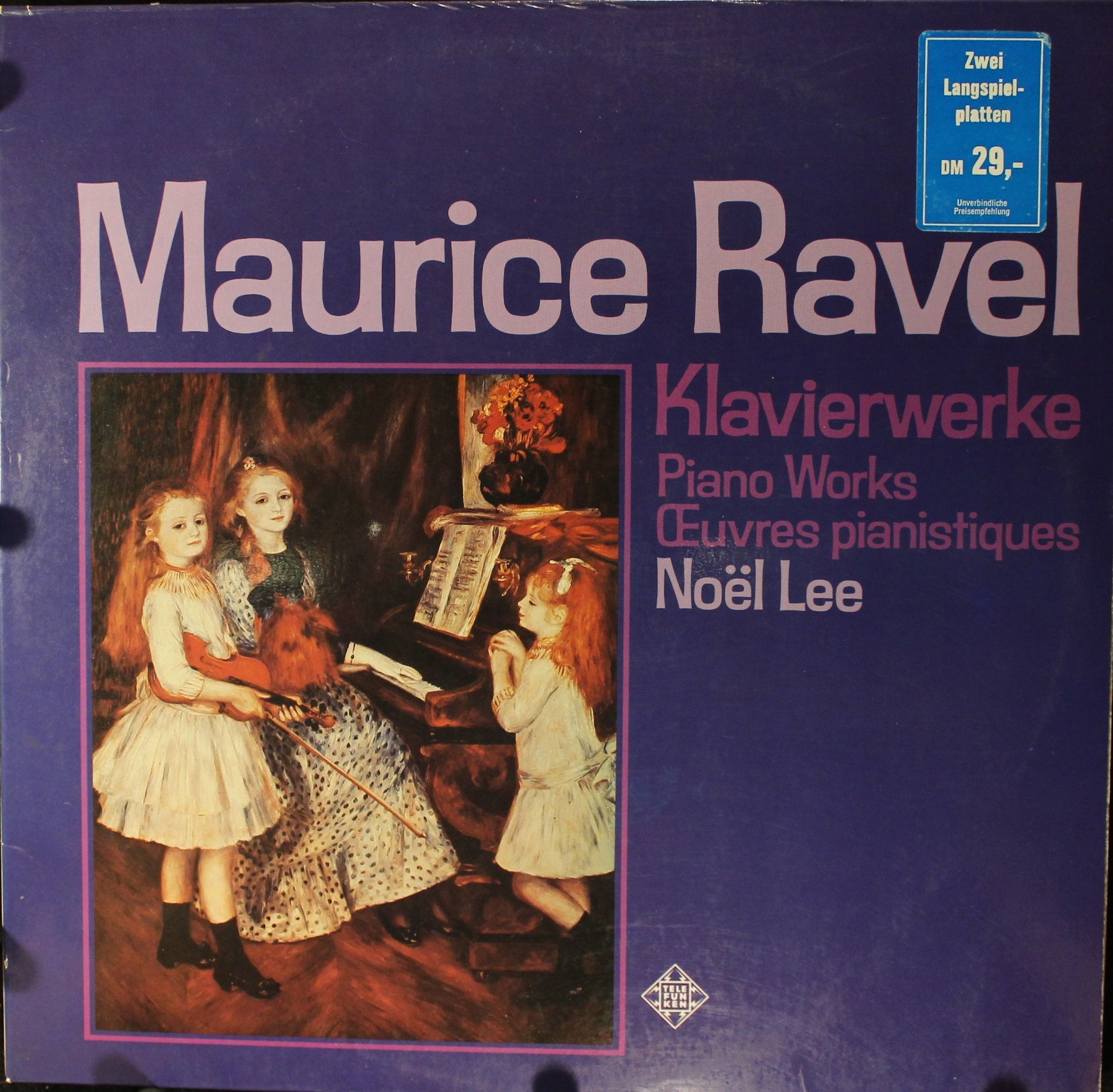 Ravel - Klavierwerke - 33T x 2