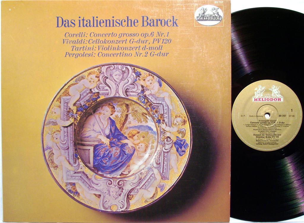 Mainardi | Baumgartner, Rudolf | Vivaldi, Antonio - Das italienische Barock - 33T