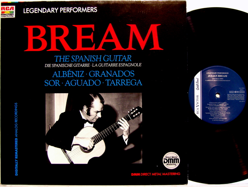 Bream, Julian - The Spanish Guitar - 33T