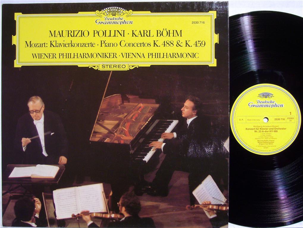 Pollini, Maurizio | Wiener Philharmoniker | Mozart Mozart: Klavierkonzerte