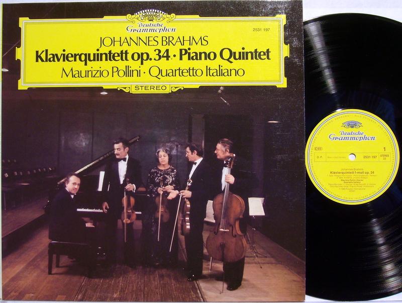 Pollini, Maurizio | Quartetto Italiano | Brahms Klavierquintett op.34 - Piano Quintet