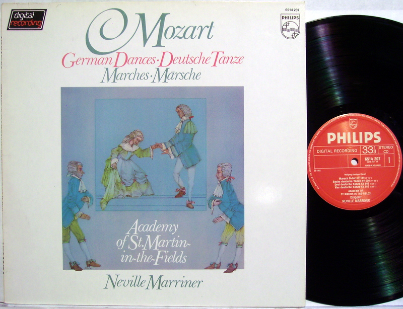 academy of st. martin in the fields | marriner, ne german dances •  marches