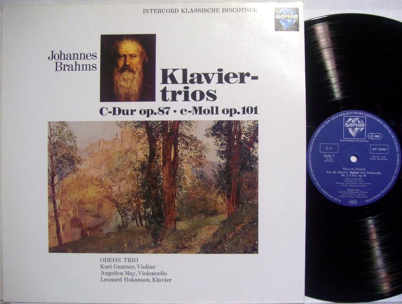 Brahms - Piano Trios Opp. 87 & 114 - 33T