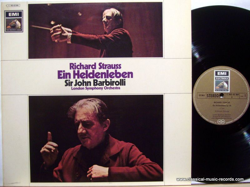 london symphony orchestra | barbirolli, john | str barbirolli ein heldenleben emi gold german 1