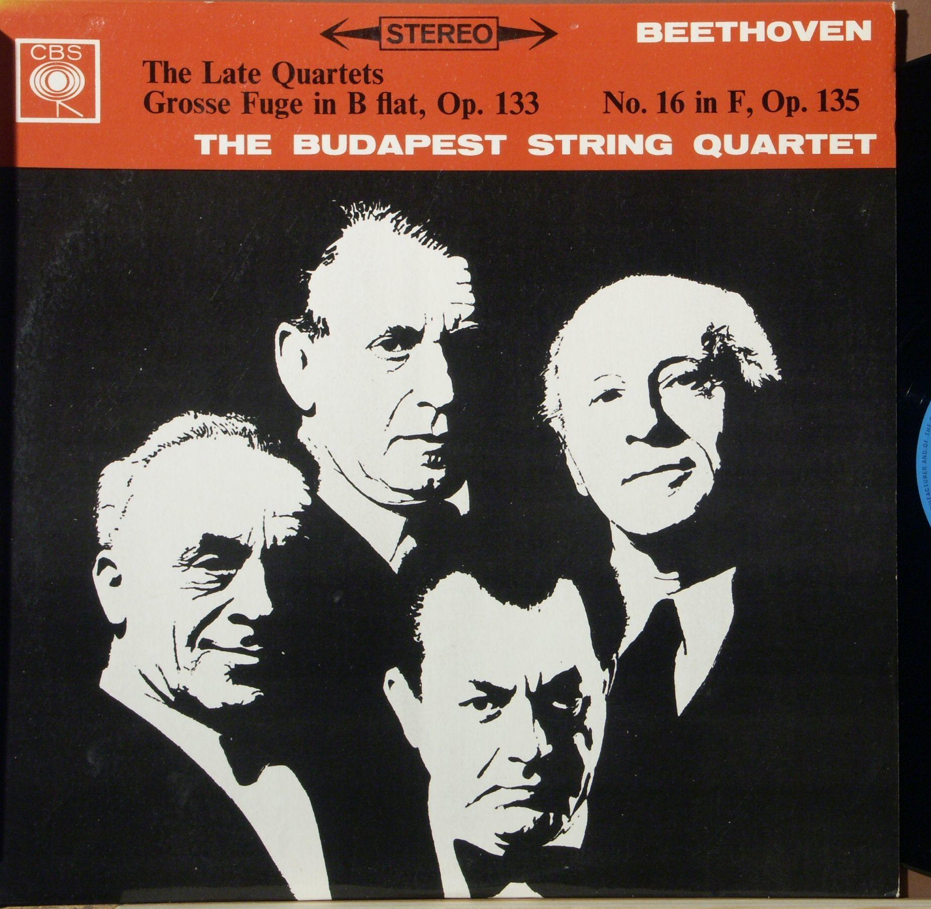 Budapest String Quartet | Beethoven The Late Quartets - Grosse Fuge In B  Flat Major, Op  133 - String Quartet No  16 In F, Op  135